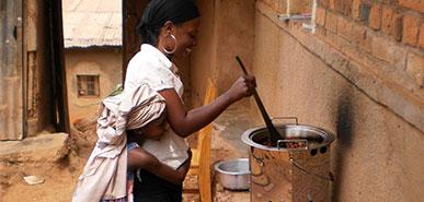 Kochöfenprojekt Ruanda