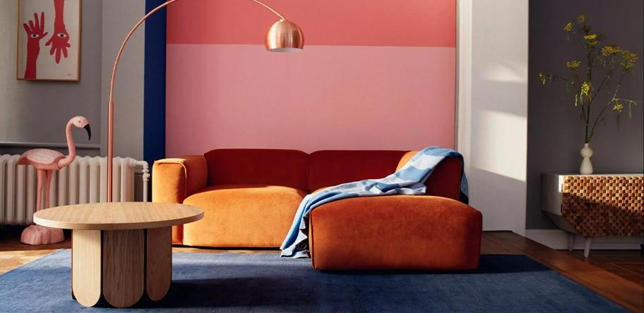 Wohnzimmer Herbstfarben