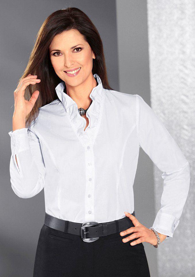 c7f553912c09a Klassisches Outfit in Schwarz und Weiß