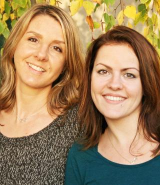 Jasmin und Melanie von Schwestern-Allerlei