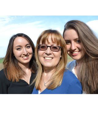 Stefanie, Conny und Steffi von Fanelia