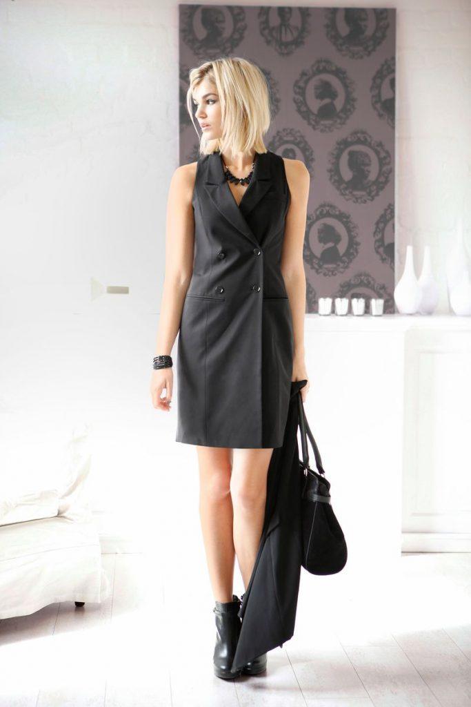 schwarzes kleid kombinieren so geht s ottoinsite. Black Bedroom Furniture Sets. Home Design Ideas