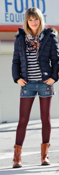 Die Kurze Hose Mit Strumpfhose Otto Style Guide Ottoinsite