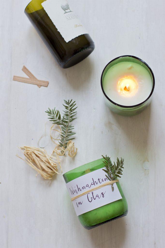 Weihnachtliche Duftkerzen selber basteln | OTTOinSITE