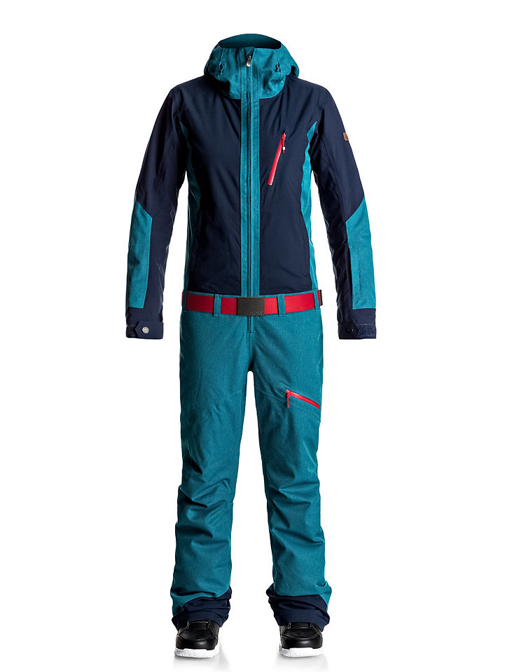 Ski-Outfit: Stylischer Schneeanzug von Roxy