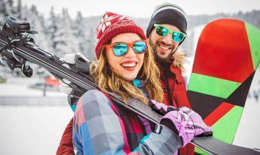 Trendige Ski-Outfits