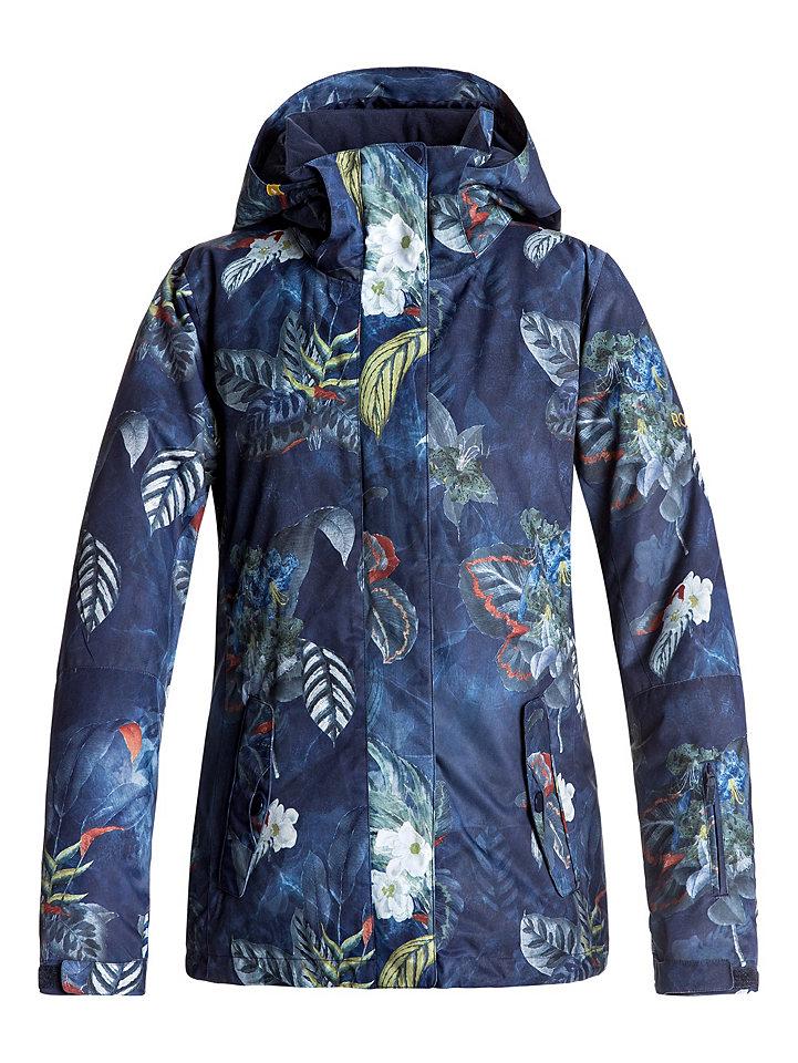 Ski-Outfits: Snow Jacke mit Blumen-Print