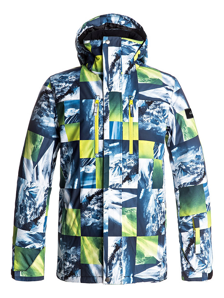 Ski-Outfits: Stylische Quiksilver Snow Jacke für Ihn
