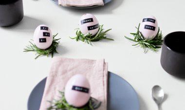 Titelbild-Oster-Tischdekoration-Bastelanleitung-rosa-minimalistisch