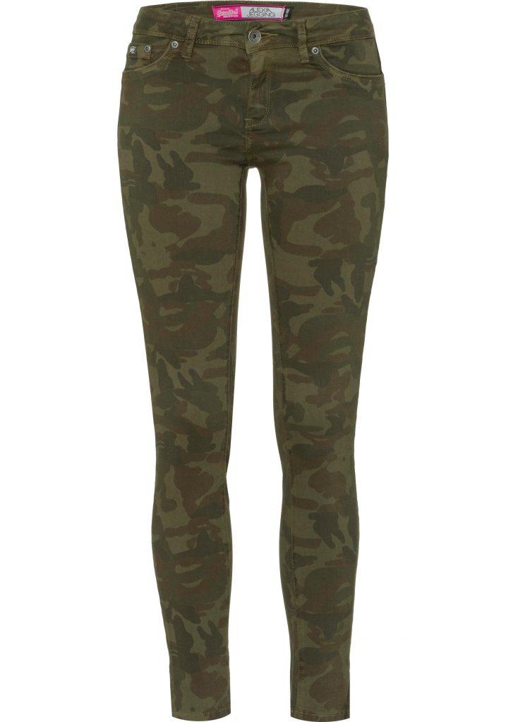 Stylingtrend Camouflage: Hose in Grün