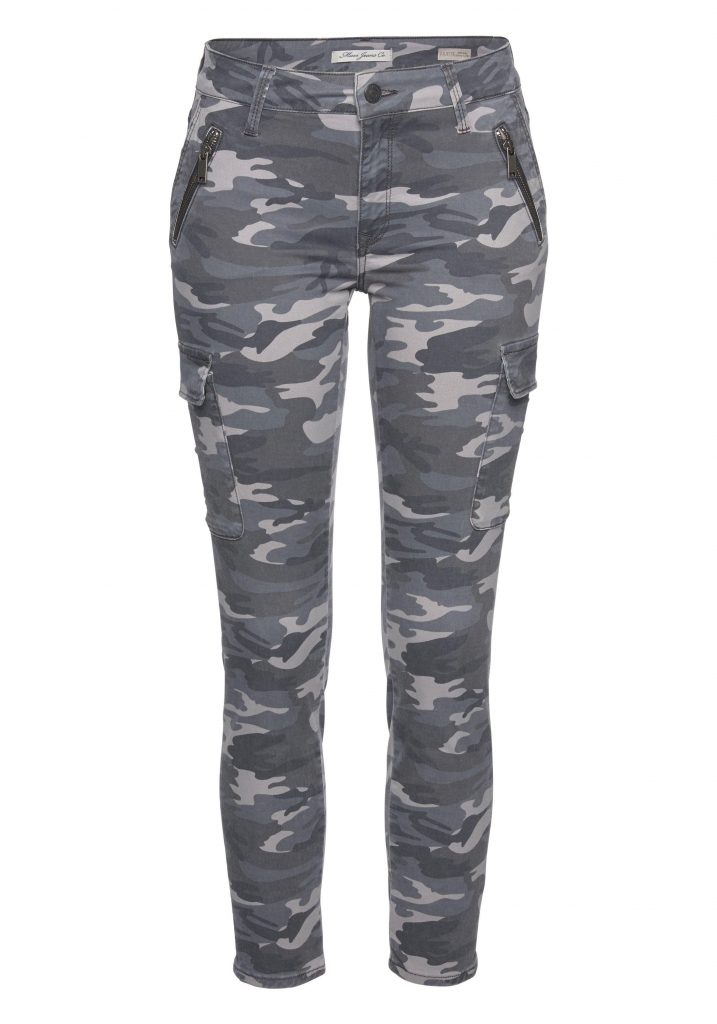 Stylingtrend Camouflage: Hose in Grau