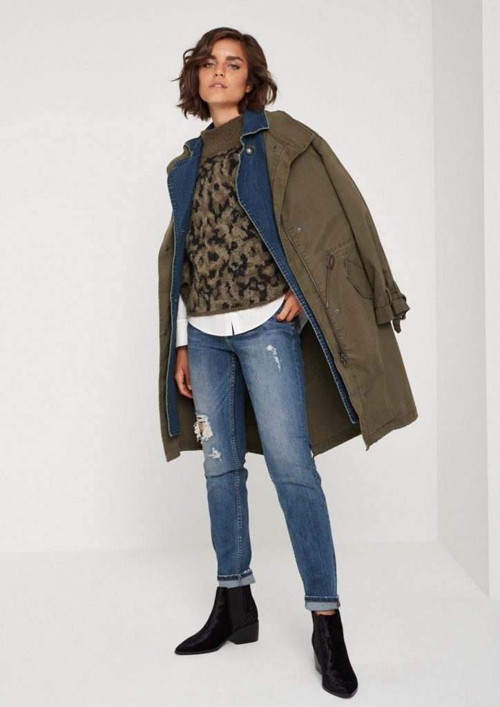 Stylingtrend Camouflage: Poncho