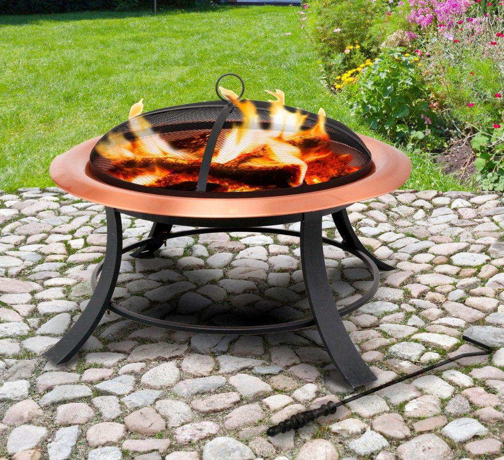 Gemütlichkeit im Garten: Feuerschale