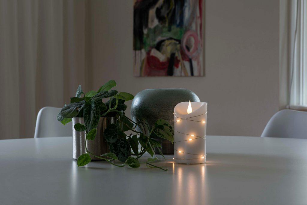Herbstdeko zu Hause: LED