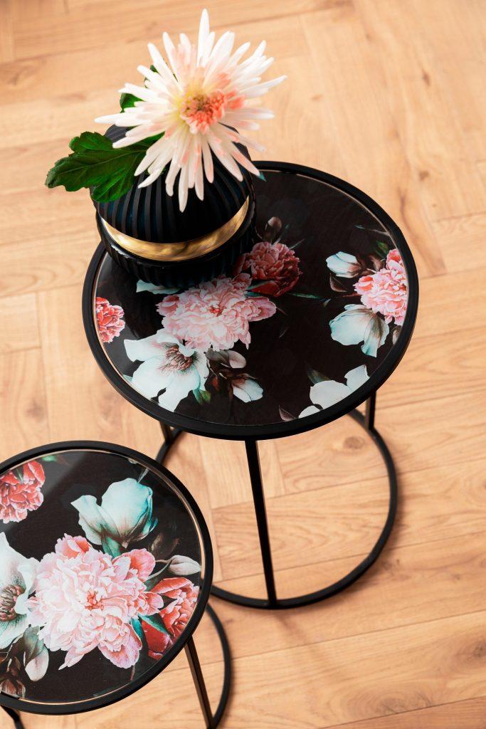 Wohnstil Art Déco: Florale Formen