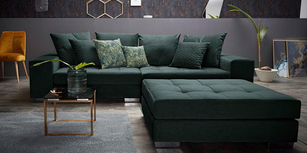 Wohnstil Art Déco: Sofa